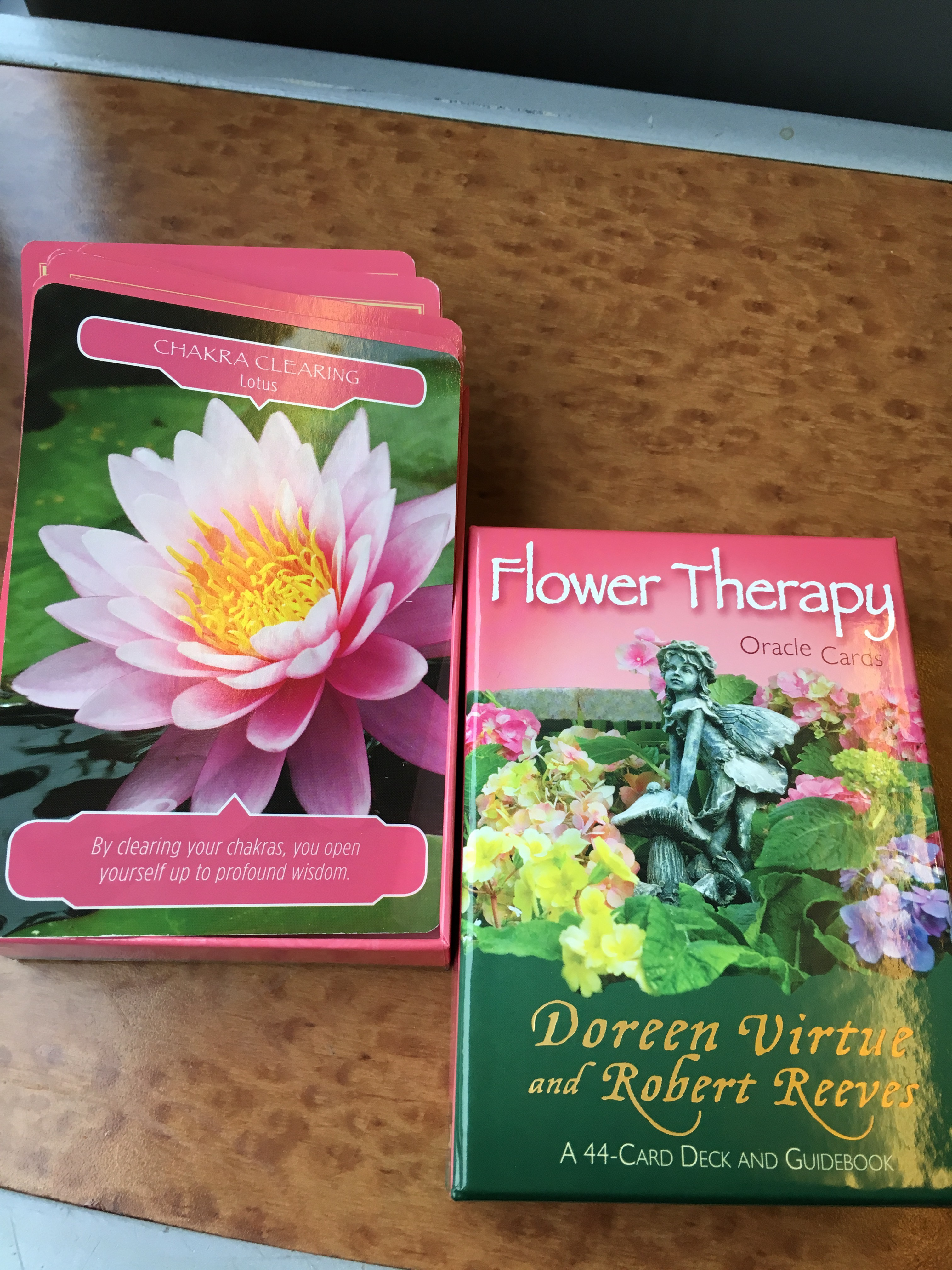 From the Flower Therapy Oracle Deck by Doreen Virtue and Robert Reeves